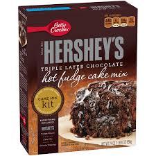 Walmart Halloween Cakes Betty Crocker Hershey U0027s Cake Mix Kit Fudge 24 0 Oz Box