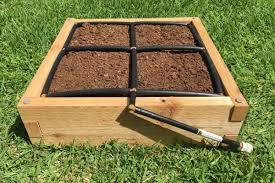 Raised Garden Beds Kits Raised Garden Bed Kits W Integrated Irrigation Gardeninminutes Com