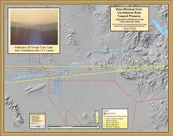 Map Of Tempe Arizona by Circlestone Superstition Wilderness Arizona