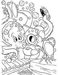 printable little mermaid coloring pages coloring me