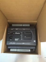 dvp40es200r delta plc 100 240vac 24di 16do relay output standard