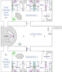 Earth Shelter Underground Floor Plans How To Build A Doomsday Family Bunker Underground Bunker Condos