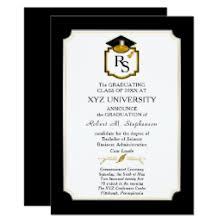 graduation photo announcements graduation invitations zazzle