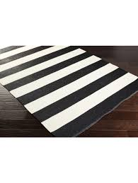 Patio Outdoor Rugs by Black And White Stripe Outdoor Rug Roselawnlutheran