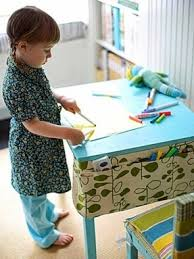 Kids Art Desk With Storage by Art Table For Kids With Storage Foter