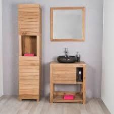 meuble de salle de bain en teck zen vasque 145cm id礬es