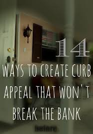 Tips For Curb Appeal - 14 curb appeal ideas