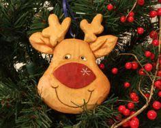 hand carved wood penguin christmas ornament 20 00 via etsy