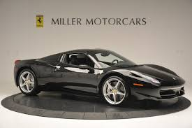 458 spider rear 2013 458 spider stock 4309 for sale near greenwich ct