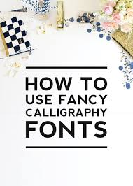 using fancy calligraphy fonts designerblogs com
