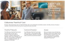 Citi Card Business Credit Card Don U0027t Forget About The Citibusiness Thankyou Card Doctor Of Credit