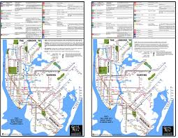 New York Mta Subway Map by 1964 Planning Maps Goodstuffnowllc
