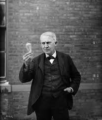 thomas edison light bulb invention let there be light the making of america thomas edison time