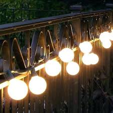 dimmable outdoor led string light globe string lights outdoor led garden bulbs patio target therav info
