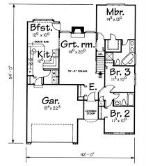 Sips Floor Plans House Plan 120 1831 3 Bedroom 1392 Sq Ft Small Home Plan
