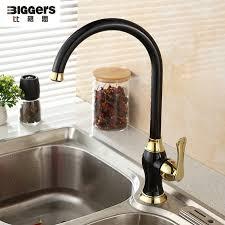 robinet cuisine cuivre livraison gratuite noir perle couleur mitigeur rotatif cuivre