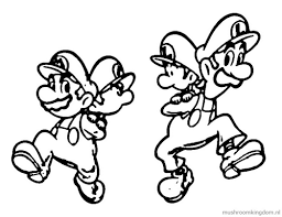 baby mario luigi coloring pages 427881 coloring pages