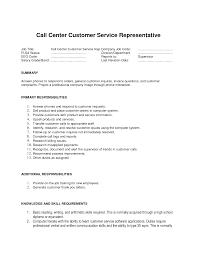customer service representative resume call center resume skills haadyaooverbayresort customer