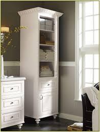 Tall Bathroom Storage Cabinet by Bathroom Black Wooden Corner Linen Cabinet For Inspiring Bathroom