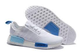 adidas nmd light blue men s women s adidas originals nmd high top shoes white blue outlet