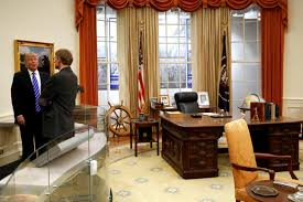 trump in oval office donald trump won t work in the oval office white house renovations