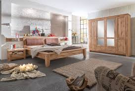 Schlafzimmer Komplett In Buche Schlafzimmer Mit 5 Türigem Schrank Eiche Asteiche Mit Massiver