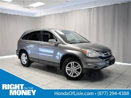 used certified one owner 2010 honda cr v ex l lisle il honda