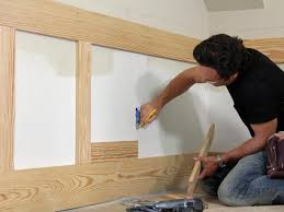 Diy Wood Panel Wall by How To Install Shaker Style Wainscot How Tos Diy