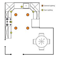lighting layout design galley kitchen pot lights kitchens and lights