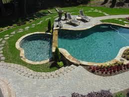 freeform inground swimming pool designs anthony u0026 sylvan pools