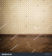 Retro Flooring by Vintage Room Empty Retro Apartment Old Stock Photo 136378655