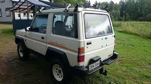 daihatsu rocky offroad daihatsu rocky 2 8 rocky dx 4x4 4x4 1991 used vehicle nettiauto