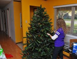 christmas how to put christmas lights on tree tall treehow