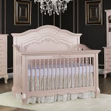bertini tinsley 3 in 1 upholstered crib antique white babies