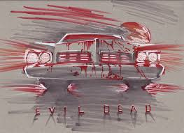 sketches evil dead u2013 surfacenick