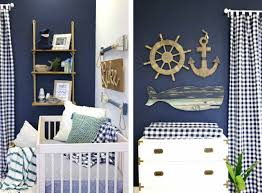 Nautical Nursery Decor Luke S Navy Nautical Nursery Caden