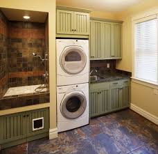Cabinet Ideas For Laundry Room Decor Washer Dryer Cabinet Enclosures 14 Washer Dryer Cabinet
