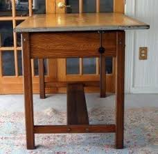 Antique Wooden Drafting Table Mayline Drafting Tables Foter