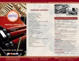 martinez printing 5217 5219 west belmont ave chicago il tel