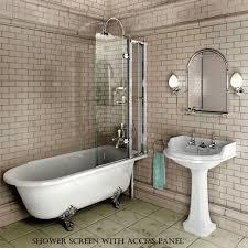 Baths And Showers Burlington Hampton Traditional Shower Bath Uk Bathrooms