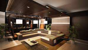 Sofa Set U Shape Elegant Wooden Ceiling Designs For Living Interior With U Shape