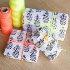pineapple wrapping paper free printable pineapple wrapping paper graphic prints wrapping