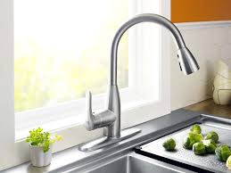 Touch Free Kitchen Faucet Faucet Wall Mount Kitchen Faucet With Sprayer Wonderful Wall