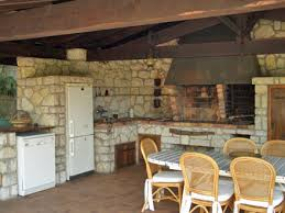 cuisine d ete barbecue la cuisine d été de la location de vacances villa à antibes alpes