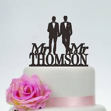 black wedding cake toppers wedding cake topper mr and mr same wedding cake topper
