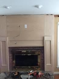 pcb carpentry fireplace mantels