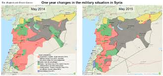 Iran On World Map One Year Changes In The Military Situation In Syria The Maghreb
