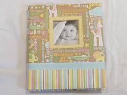 baby boy scrapbook album premade scrapbook album ebay