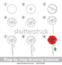coloring pages amusing step by flowers coloring pages step by