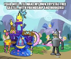 Create My Own Meme With My Own Picture - yeah well i ll make my own crystal tree castle with